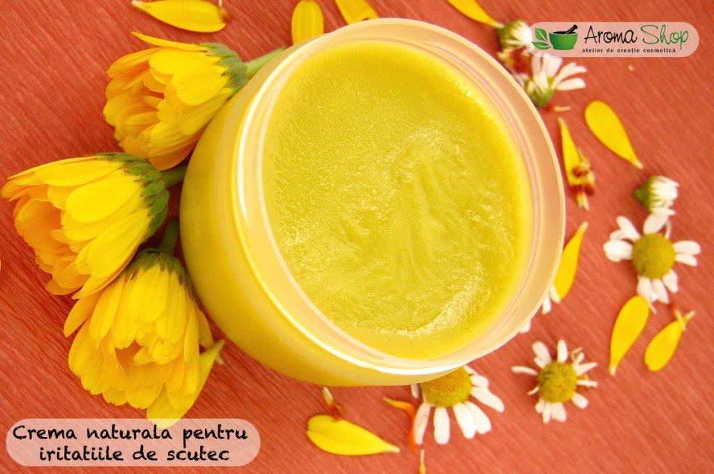 Crema naturala pentru iritatii de scutec
