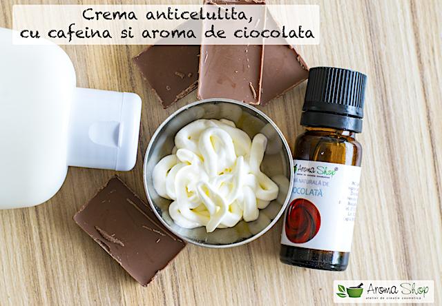 crema anticelulita cu cafeina si aroma de ciocolata