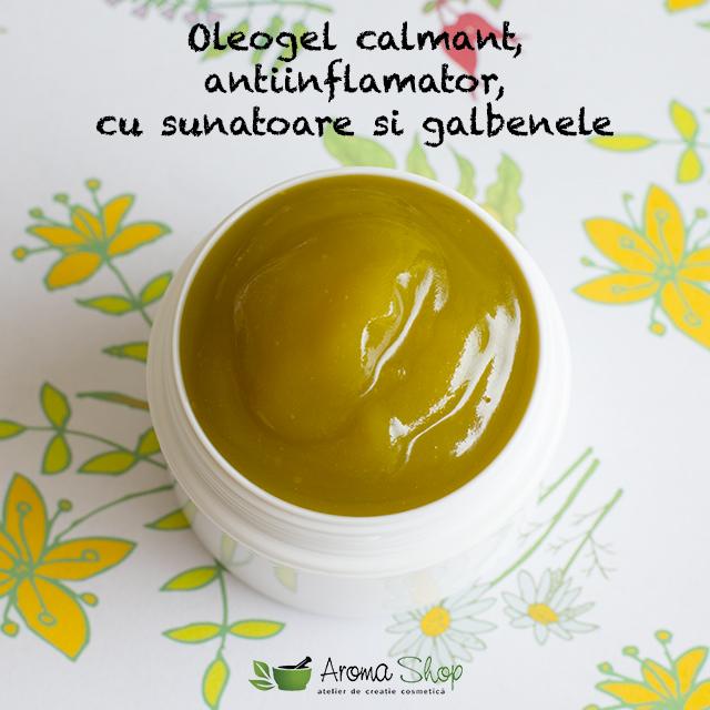 Oleogel calmant antiinflamator