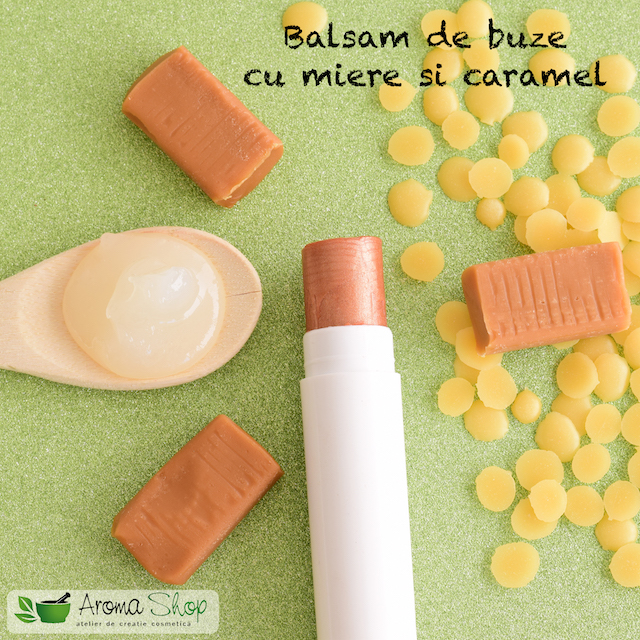balsam cu miere si caramel